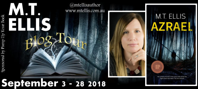 M.T. Ellis | Blog Tour | Azrael